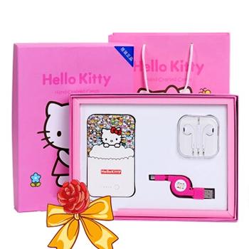 历史新低国美在线 Hello Kitty 充电宝礼盒