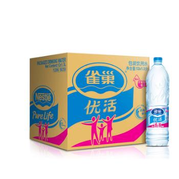 国美在线 雀巢 优活饮用水 1.5L*12瓶