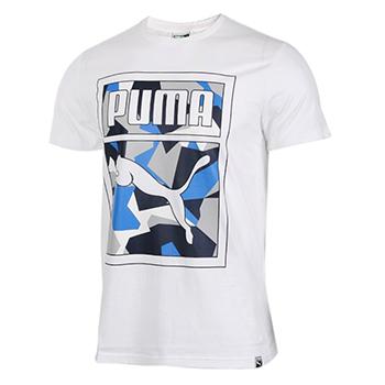 亚马逊中国 PUMA彪马 Logo Tee男式短袖T恤