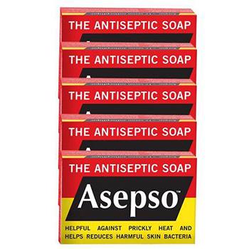 亚马逊中国 Asepso安施露 抑菌洁肤皂 80g*5个