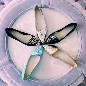 低至5折+包邮包关税 $240收蝴蝶平底鞋
