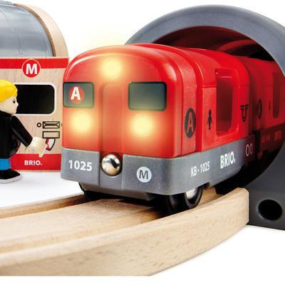 BRIO 33513 声光地铁车站套装 经久耐用 安全可靠 ¥229