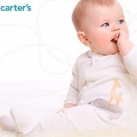 清仓区特定款额外6折 Carter's 童装特卖 包臀衫$1.2 连体衣$4.8