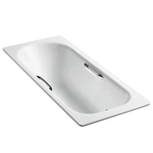 KOHLER 科勒 K-941T-GR-0 索尚嵌入式铸铁浴缸1.7米 有扶手孔 2815.34元包邮(一件6.7折)