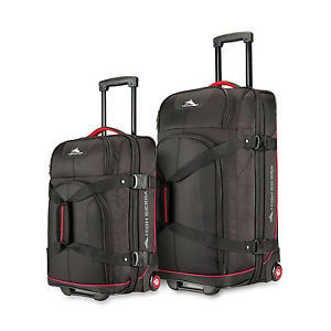 HIGH SIERRA 高山 拉杆箱2件套(22寸和27寸) $69.99(约¥960)