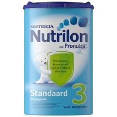 10罐以上含税免邮,荷兰直邮!Nutrilon 牛栏标准配方奶粉3段 800g 159元