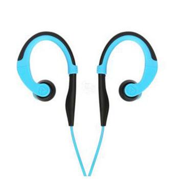 1号店超市 PISEN品胜 耳挂式线控带麦有线运动耳机+自拍杆40.9元 已降30元