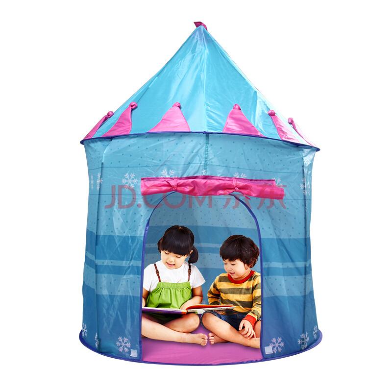 ¥159 北极狼 BeiJiLang 儿童游戏帐篷小孩房子公主城堡屋 宝宝室内蒙古包玩具幼儿园礼物D-30