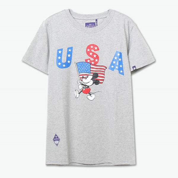 潮流印花!TEEBACCO 美式风米奇印花短袖T恤 39元(需邮费)