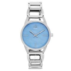 【节日特惠】Calvin Klein 卡文克莱 Stately 系列 K3G2312N 湖水蓝优雅女表
