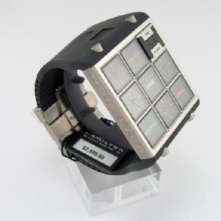 """汉米尔顿(Hamilton) H51511331 American Classic Shaped Timeplayer """"时间玩家""""手表 大家好,我真的是手表 ¥6200"""