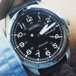 历史新低: SEIKO 精工 CORE系列 SRP715 男士机械腕表 $135(约¥950)
