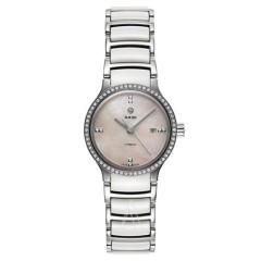 【年终特惠】Rado 雷达表 Centrix 系列 R30160912 女士钻石机械手表