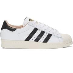 折扣升级,新低价~~adidas Originals White Superstar 80s Sneakers 女款小白鞋