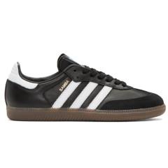 adidas Originals Black Samba OG Sneakers 男款黑色复古运动鞋