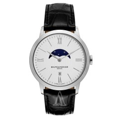 【节日特惠】Baume and Mercier 名士表 Classima Executives 系列 MOA10219 男士石英手表