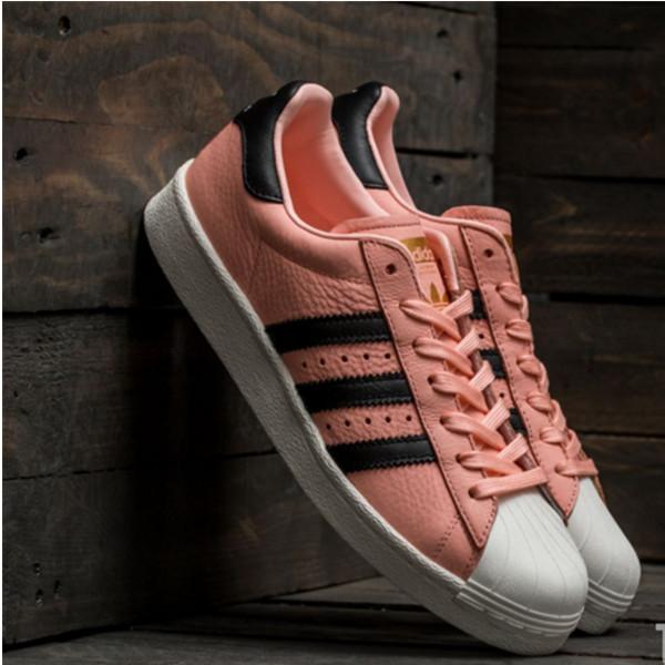 近期好价!Adidas Superstar Boost 男士贝壳头休闲鞋 $39.99(转运到手约¥379)