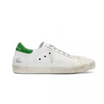 GOLDEN GOOSE 意大利产 绿尾男士真皮休闲鞋 3.8折 直邮中国 USD$188(¥1166)