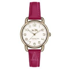 【4折好价】Coach 蔻驰 Delancey 系列 14502612 女士玫瑰金石英手表