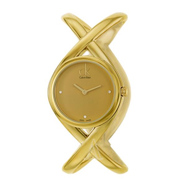 优雅别致!Calvin Klein K2L24513 女士时装腕表 $88(转运到手约¥660)