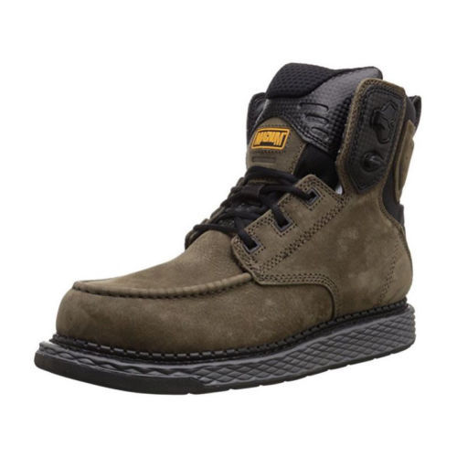 Magnum Stockton 男士真皮工装靴 6寸 $59.99(下单立减,约¥520)