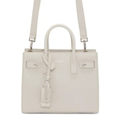 Saint Laurent White Nano Sac de Jour Tote 白色小小款手袋