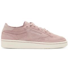 Reebok Classics Pink & White Club C 85 Sneakers 女款时尚复古运动鞋