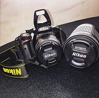 Nikon 尼康 D3400 DX DSLR 18-55mm VR+70-300mm 单反套机 官翻版 特价$389.99,转运到手约2700元  389.99美元约¥2543(京东单镜头3899元)