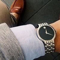 $219 (原价$795) Movado Veturi 系列简约风格休时装男表