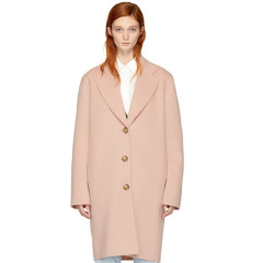Acne Studios Pink Landi Doublé Coat 粉色简约款大衣