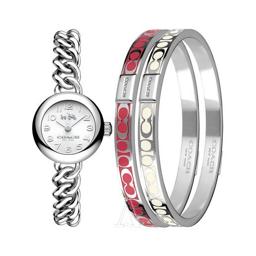折合625.8元 Coach 蔻驰 Waverly系列 14000054 女士手表套装