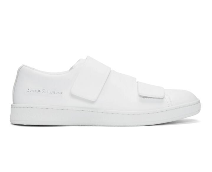 意大利产,Acne Studios 艾克妮 White Triple 运动鞋 新低$195直邮到手¥1460