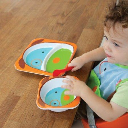 SKIP HOP 可爱动物园 餐具碗碟套组 多款 ¥59