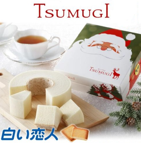 TSUMUGI 白色年轮蛋糕 1296日元,约75元,可直邮