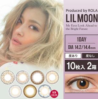 LILMOON 日抛 10片装x2盒 度数可选 3888日元,约226元