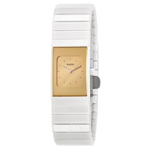 新低价!RADO R21985252 CERAMICA 陶瓷表带女士腕表 $399(需用码),免费直邮