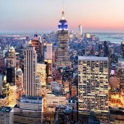 特价机票: 国航 全国多地-美国纽约9天7晚 2999元起/人