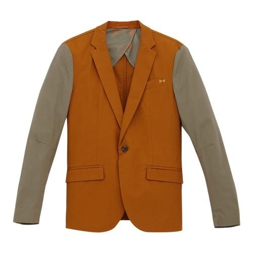 ¥29.9 METERSBONWE 美特斯邦威 男式拼接西装外套 236201