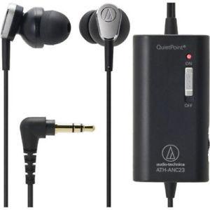 折合243.25元 audio-technica 铁三角 ATH-ANC23 入耳式主动降噪耳机