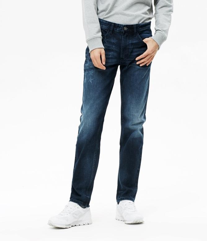 METERSBONWE美特斯邦威 男子水洗直筒牛仔裤 49.9元