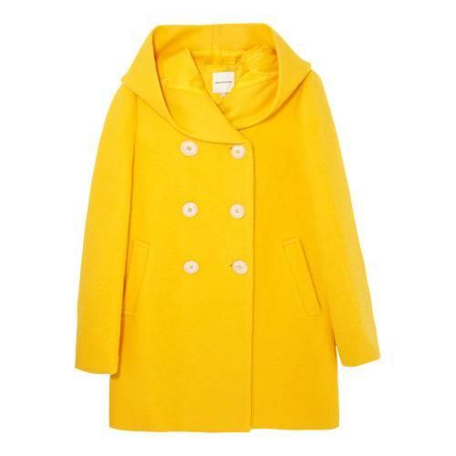 METERSBONWE 女子基本款宽松大衣(47%羊毛) 59.9元