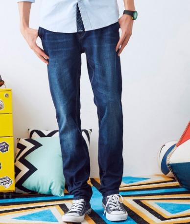 METERSBONWE 美特斯邦威 男子舒适弹性牛仔裤 35.9元(2件6折)