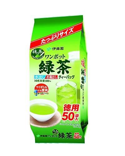 伊藤园 抹茶绿茶款 袋泡茶3g*50包 368日元(约21.34元)
