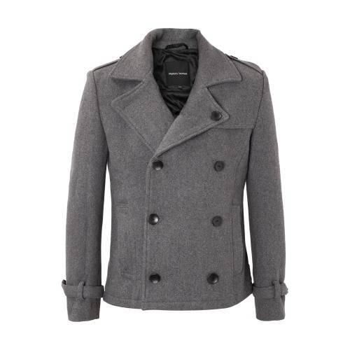 METERSBONWE 男子经典呢大衣(52%羊毛) 104.9元/件(2件立减30元后)