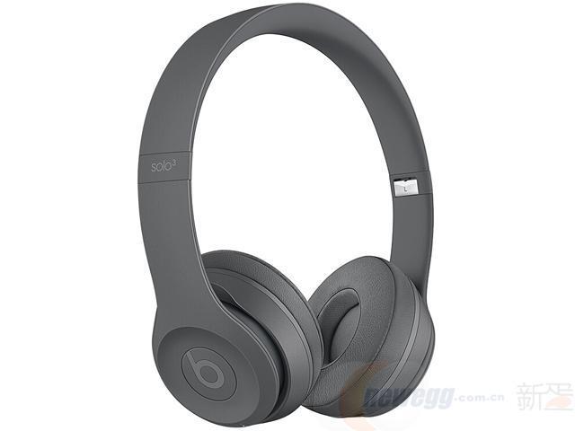 ¥1499 BeatsSolo3WirelessNeighborhood联名款头戴式蓝牙无线耳机手机耳机游戏耳机-沥青灰-新蛋中国