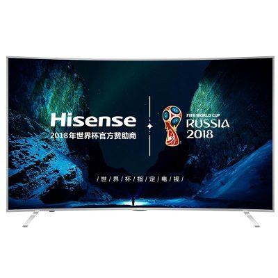 Hisense 海信 LED55EC880UCQ 55英寸 曲面 4K液晶电视 5299元包邮(满减)