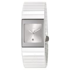 高科技触感!Rado 雷达表 Ceramica 整体陶瓷系列 R21982102 女士手表