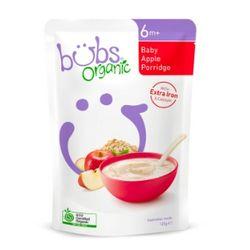 bubs 婴幼儿宝宝辅食营养苹果燕麦粥 125g AU$4.95(约¥25)