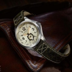 Hamilton 汉密尔顿 Khaki Aviation QNE 系列 H76655723 男士自动机械手表