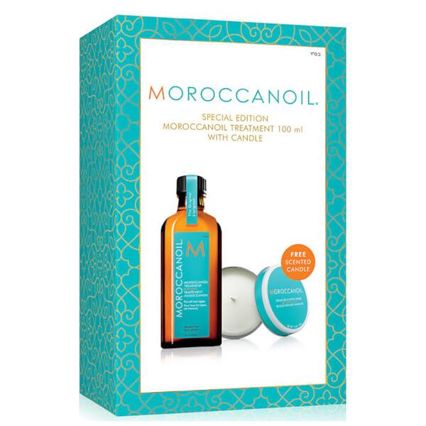 2套7.5折!Moroccanoil 护发精华油100ml+香薰蜡烛 £24.64,约217元,可直邮